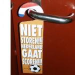 Deurkrukhanger Niet storen!!! Nederland gaat scoren!!!