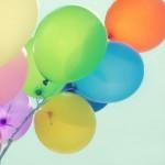 Helium ballonnen foto