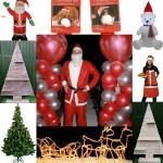 Assortiment kerstartikelen, kerstdecoratie van Molenaar Decoration