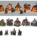 Kerstdorp_in_doos_met_verlichting_9_delig_5_huizen_4_tafereeltjes