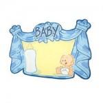 Kroonschild_blanco_bord_deur_blauw_jongen_geboren_geboortebord_deurbord