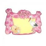 Kroonschild_blanco_bord_deur_roze_baby_meisje_geboren_geboortebord_deurbord